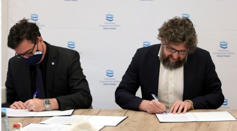 podpisanie listu intencyjnego przez Wody Polskie i ZE PAK