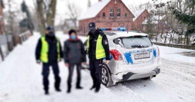poszukiwania zaginionego fot. policja Chodzież