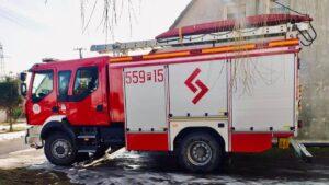 pożar Skrzatusz fot. OSP Szydłowo