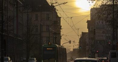 Poznań ul. Grunwaldzka MPK tramwaj fot. Sławek Wąchała
