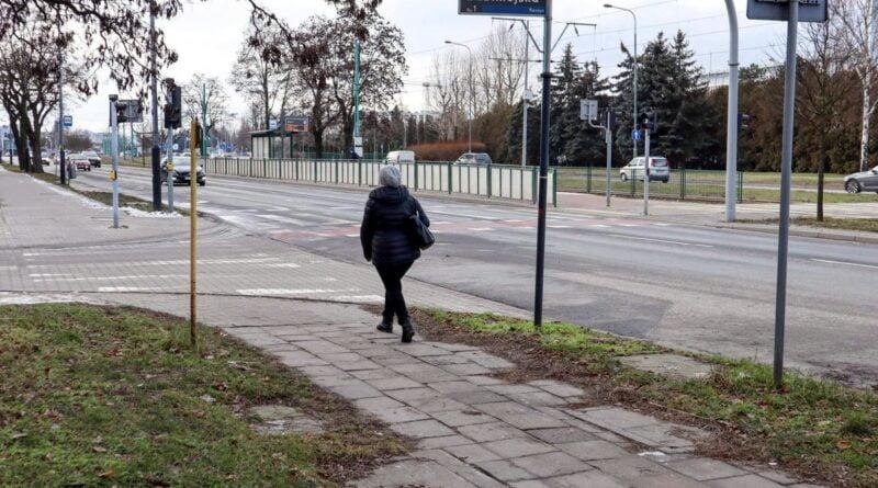 przyszły nowy odcinek drogi wzdłuż Grunwaldzkiej fot. PIM