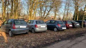 samochody na cytadeli fot. h. owsianna5 300x169 - Poznań: Cytadela rozjeżdżana kołami samochodów