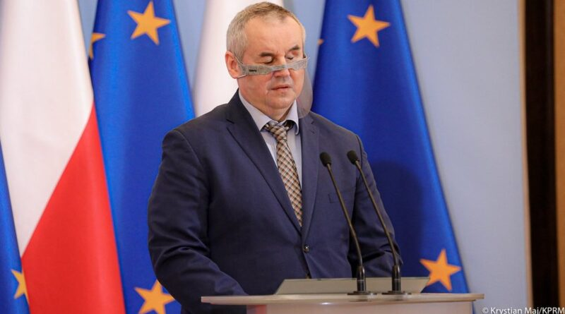 wiceminister Paweł Wdówik fot. KPRM
