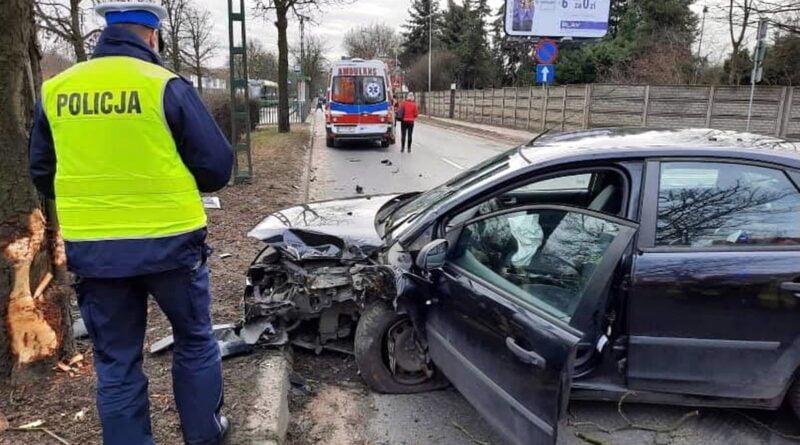 wypadek fot. policja Poznań