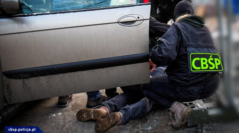 zatrzymania w sprawie podrabianych leków fot. CBSP
