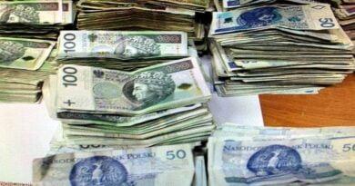 zgubione pieniądze fot. policja