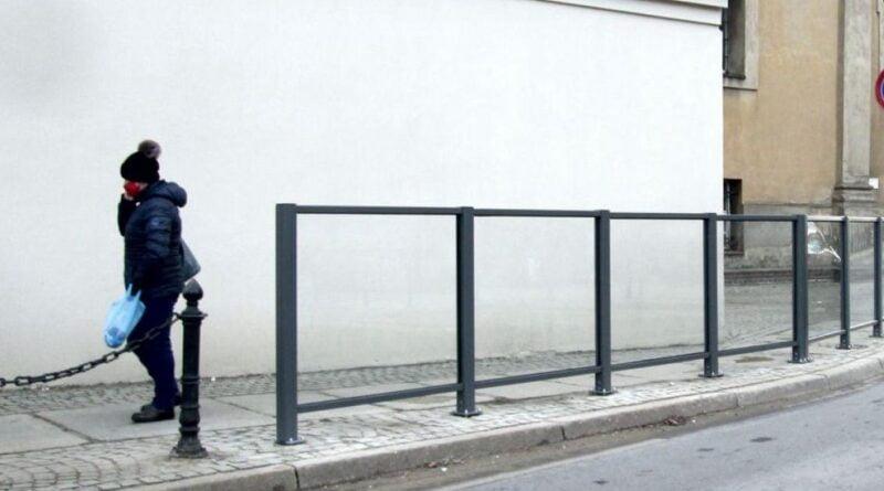 barierki przy Garbarach fot. ZDM