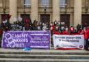 Demonstracja z okazji Dnia Kobiet fot. Sławek Wąchała