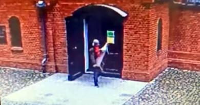 Kradzież skarbonki z kościoła fot. policja