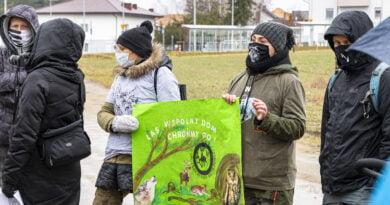 Łączy nas wspólny LAS. Spacer protestacyjny - w obronie lasów! fot. Sławek Wąchała