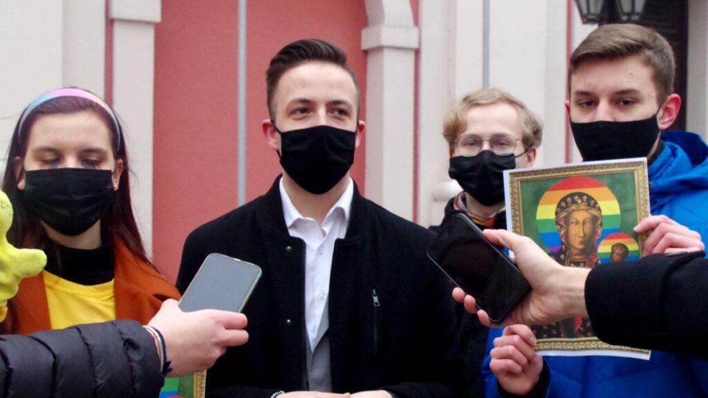 """mlodzi nowoczesni fot. mlodzi nowoczesni2 1024x576 - Poznań: """"Świeckie państwo bez cenzury"""". Akcja Młodych Nowoczesnych"""