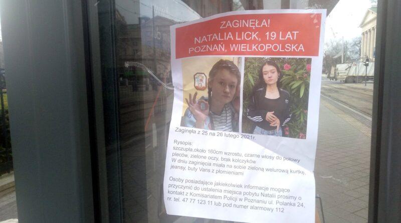 Natalia Lick, plakat