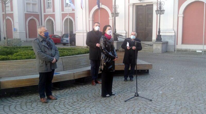o zajęciach antydyskryminacyjnych mówią Mariusz Wiśniewski, Marta Mazurek, Marek Sternalski, Wiesław Banaś