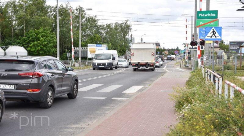 obecny przejazd Grunwaldzką fot. PIM