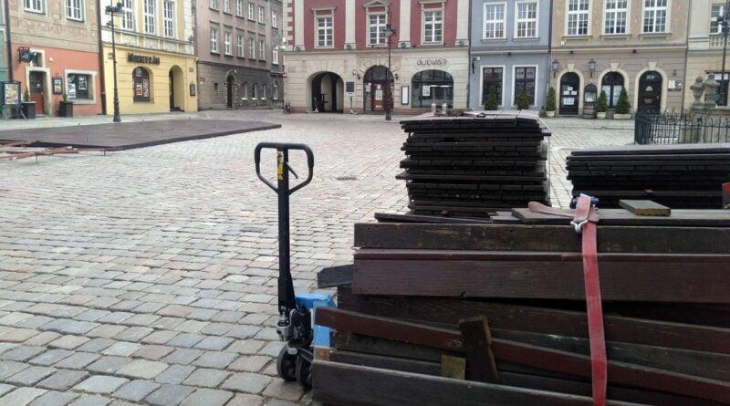 ogródki gastronomiczne, Stary Rynek