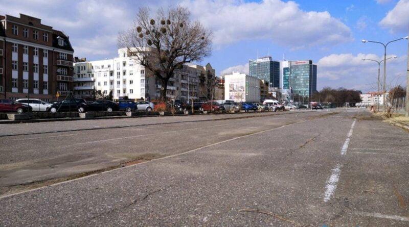 parking buforowy Dolna Wilda fot. ZDM