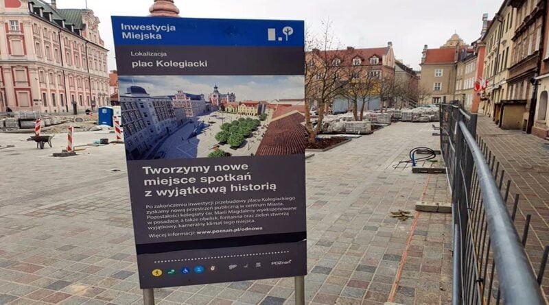 plac Kolegiacki fot. M. Wiśniewski FB