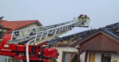 pożar w Pile fot. OSP Szydłowo