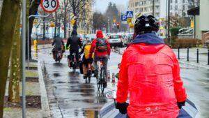 """pozegnanie zimy fot. rowerowy poznan4 300x169 - Poznań: Pożegnanie zimy z Rowerowym Poznaniem i Marzanną """"covidzianką"""""""