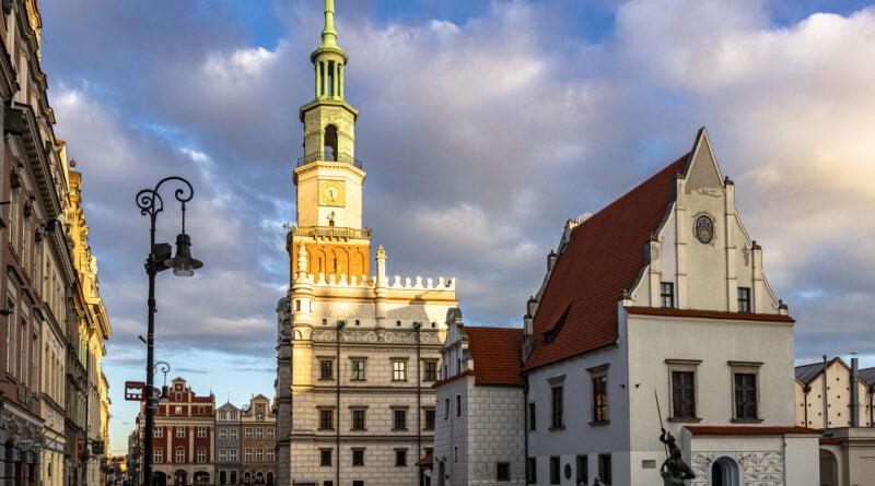 Poznań Stary Rynek ratusz fot. Sławek Wąchała