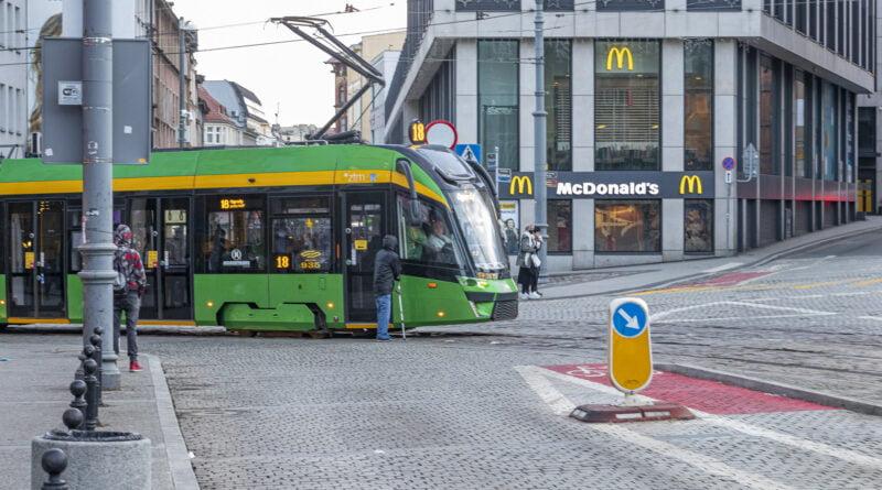 Poznań Plac Wiosny ludów MPK tramwaj fot. Sławek Wąchała