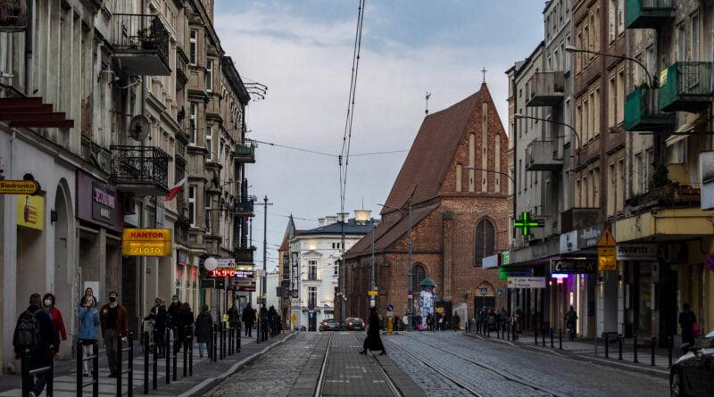 Święty Marcin remont Poznań fot. Sławek Wąchała