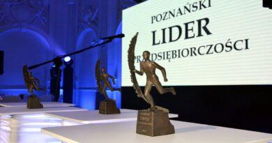 Poznański Lider Przedsiębiorczości, statuetka fot. PP