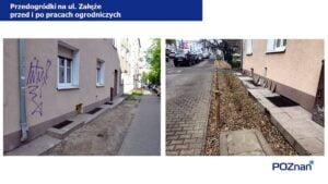 przedogrodki na ul. zaleze fot. ump2 300x169 - Poznań: Na Łazarzu powstają przedogródki. Jak wam się podobają?