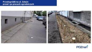 przedogrodki na ul. zaleze fot. ump3 300x169 - Poznań: Na Łazarzu powstają przedogródki. Jak wam się podobają?