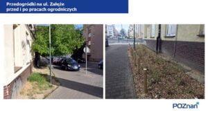 przedogrodki na ul. zaleze fot. ump4 300x169 - Poznań: Na Łazarzu powstają przedogródki. Jak wam się podobają?