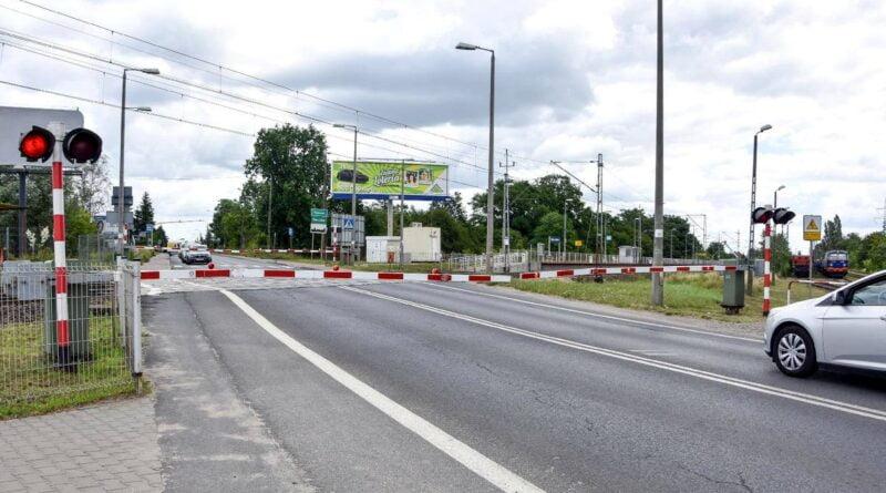 przejazd kolejowy Grunwaldzka fot. PIM