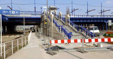 schody, Most Dworcowy fot. PIM
