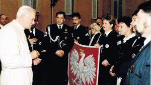 straz miejska u papieza jana pawla ii fot. smmp 300x169 - Poznań: Straż Miejska Miasta Poznania ma już 30 lat!