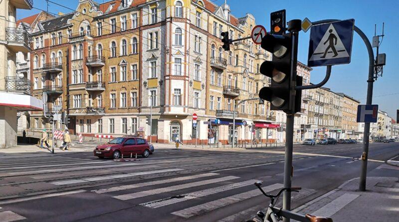 sygnalizacja świetlna Głogowska fot. ZDM