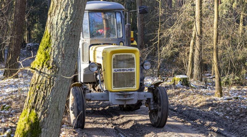 Traktor ciągnik Ursus fot. ilustracyjne fot. Sławek Wąchała