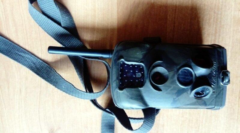 ukradziony sprzęt z fotopułapki fot. policja