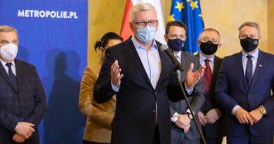 Unia Metropolii Polskich fot. FB Jacka Jaśkowiaka