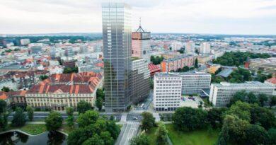 wizualizacja budynku przy Al. Niepodległości fot. B. Ignaszewski FB