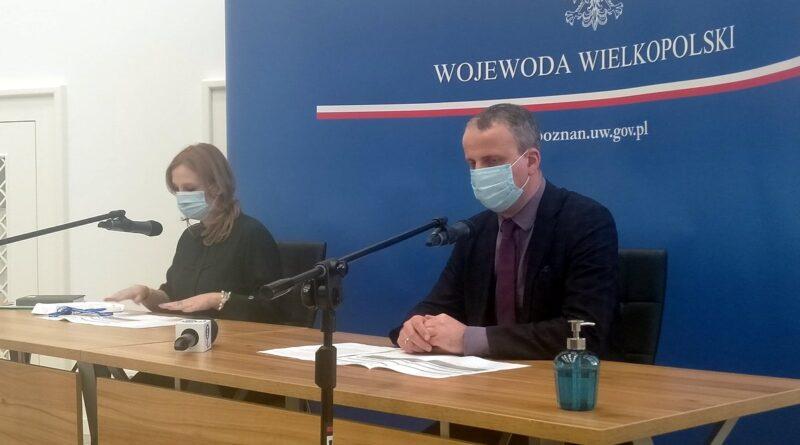 wojewoda Michał Zieliński, dyrektor Liwia Polcyn-Nowak