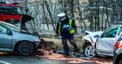 wypadek, Nowy Świat fot. policja
