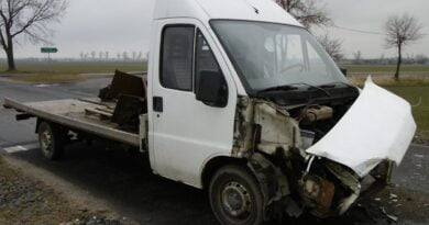 wypadek w Pyszczynku fot. policja