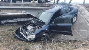 wypadek wrzesnia fot. policja 300x169 - Września: Wypadek na DK92. Są utrudnienia w ruchu