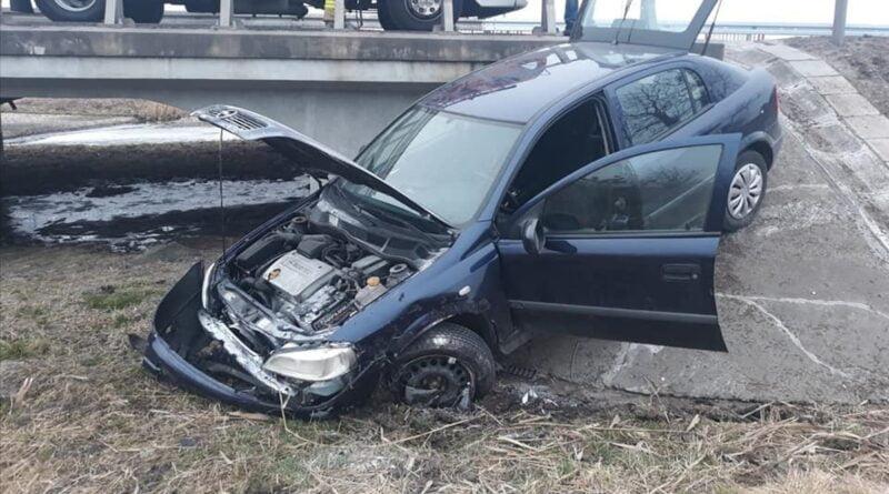 wypadek Września fot. policja