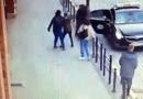 Atak gazem fot. monitoring miejski