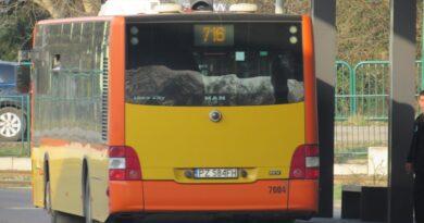 autobus nr 716 fot. ZTM