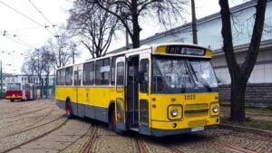 daf po remoncie fot. m. witkowski mpk 300x169 - Poznań: Autobus DAF znów wyjedzie na ulice miasta