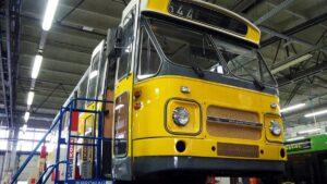 daf po remoncie fot. m. witkowski mpk2 300x169 - Poznań: Autobus DAF znów wyjedzie na ulice miasta