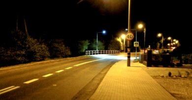 doświetlone przejscie dla pieszych fot. ZDM