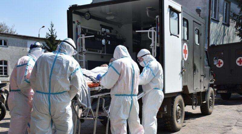 ewakuacja, koronawirus fot. 12WBOT