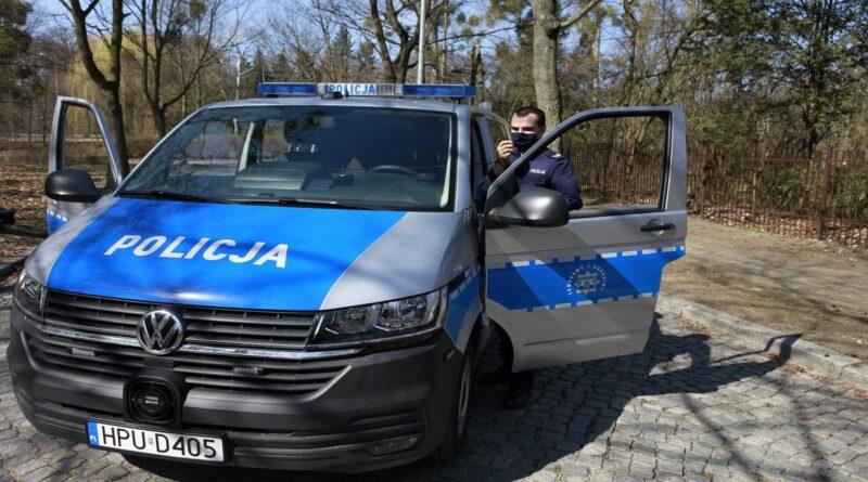 furgony patrolowe VW T6 fot. policja